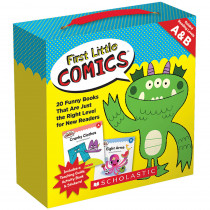 SC-818026 - 1St Little Comics Parent Pk Lvl A/B in Language Skills