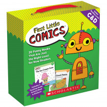 SC-818027 - 1St Little Comics Parent Pk Lvl C/D in Language Skills
