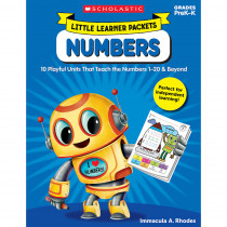 SC-822829 - Little Learner Packets Numbers in Math