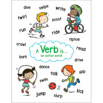 SC-823378 - Anchor Chart Verb in Language Arts