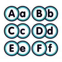 SC-823622 - Aqua Oasis Alphabet Bulletin Board in Classroom Theme