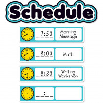 SC-823630 - Aqua Oasis Schedule Mini Bb in Classroom Theme