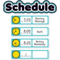 SC-823630 - Aqua Oasis Schedule Mini Bb in Classroom Theme