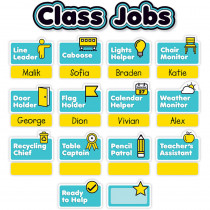 SC-823633 - Aqua Oasis Class Jobs Mini Bb in Classroom Theme