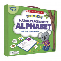SC-823961 - Match Trace And Write The Alphabet Learning Mats in Mats
