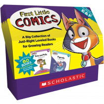 SC-825520 - Classroom Set Levels E And F First Little Comics in Language Arts