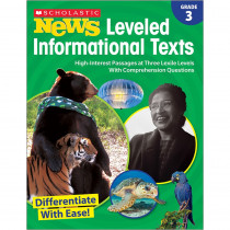 SC-828473 - Gr 3 Scholastic News Leveled Info Texts in Activities