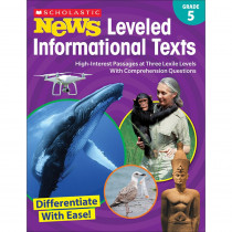 SC-828475 - Gr 5 Scholastic News Leveled Info Texts in Activities