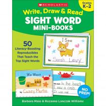 SC-830630 - Write Draw & Read Mini Books Sight Word in Sight Words