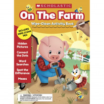 On the Farm Wipe-Clean Activity Book - SC-857235 | Scholastic Teaching Resources | Resources