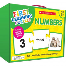 First Learning Puzzles: Numbers - SC-863051 | Scholastic Teaching Resources | Puzzles