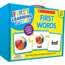First Learning Puzzles: First Words - SC-863054 | Scholastic Teaching Resources | Puzzles
