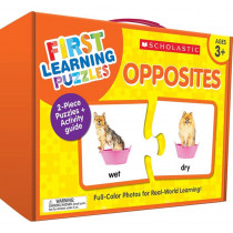 First Learning Puzzles: Opposites - SC-863055 | Scholastic Teaching Resources | Puzzles