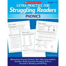 SC-9780545124096 - Extra Practice For Struggling Readers Phonics in Phonics