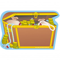 SE-07 - Creative Shapes Notepad Treasure Chest Large in Note Pads