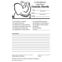 SE-1014 - Disciplinary Notes From Creative Charlie in Progress Notices