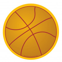 SE-31 - Creative Shapes Notepad Basketball Large in Note Pads