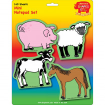 SE-7943 - Farm Animals Set Mini Notepad in Note Pads