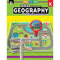 SEP28621 - 180 Days Of Geography Grade K in Geography