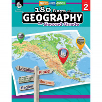 SEP28623 - 180 Days Of Geography Grade 2 in Geography