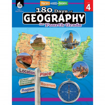 SEP28625 - 180 Days Of Geography Grade 4 in Geography
