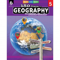 SEP28626 - 180 Days Of Geography Grade 5 in Geography