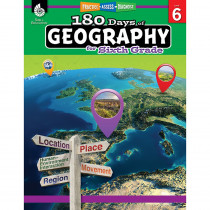 SEP28627 - 180 Days Of Geography Grade 6 in Geography