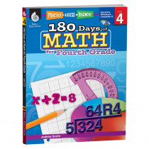 SEP50807 - 180 Days Of Math Gr 4 in Activity Books