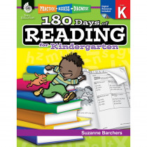 SEP50921 - 180 Days Of Reading Book For Kindergarten in Reading Skills