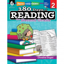 SEP50923 - 180 Days Of Reading Book For Second Grade in Reading Skills