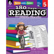 SEP50926 - 180 Days Of Reading Book For Fifth Grade in Reading Skills