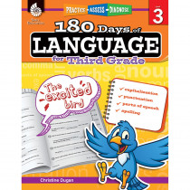 SEP51168 - 180 Days Of Language Gr 3 in Language Skills