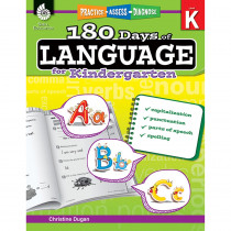 SEP51172 - 180 Days Of Language Gr K in Language Skills