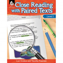 SEP51357 - Level 1 Close Reading With Paired Texts in Comprehension