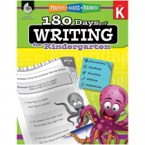 SEP51523 - 180 Days Of Writing Gr K in Writing Skills