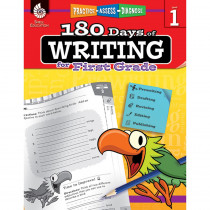 SEP51524 - 180 Days Of Writing Gr 1 in Writing Skills