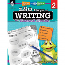 SEP51525 - 180 Days Of Writing Gr 2 in Writing Skills