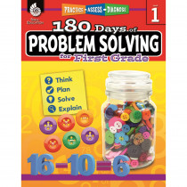 SEP51613 - 180 Day Problem Solving Gr1 Workbk in Books