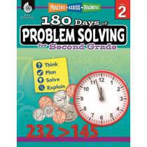 SEP51614 - 180 Day Problem Solving Gr2 Workbk in Books