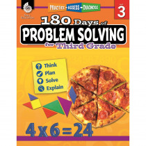 SEP51615 - 180 Day Problem Solving Gr3 Workbk in Books