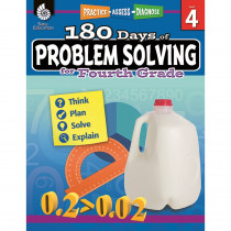 SEP51616 - 180 Day Problem Solving Gr4 Workbk in Books