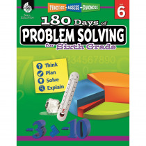 SEP51618 - 180 Day Problem Solving Gr6 Workbk in Books