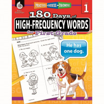 SEP51634 - 180 Day High Freq Words Gr1 Workbk in Sight Words