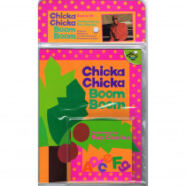 SIM9781416927181 - Chicka Chicka Boom Boom Carry Along Book & Cd in Books W/cd