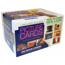 SLM001 - Language Builder Picture Nouns in Flash Cards