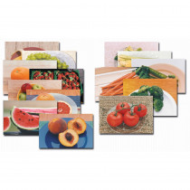 SLM153 - Fruits & Vegetables Poster Set-14 in Science