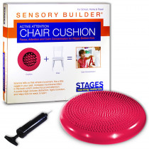SLM2102 - Active Attention Chair Cushion Red Sensory Builder in Floor Cushions