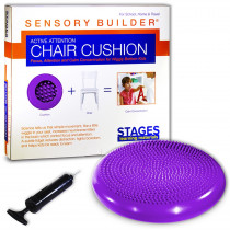 SLM2103 - Active Attention Chair Cushion Prpl Sensory Builder in Floor Cushions