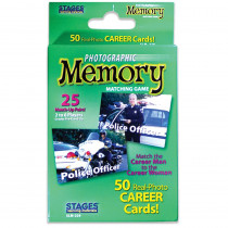 SLM229 - Careers Photographic Memory Matching Game in Games