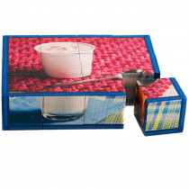 SLM404 - Dairy Cube Puzzle in Health & Nutrition